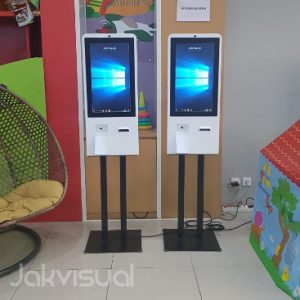 Papan Elektronik - Kiosk Touch Screen - Box Antrian