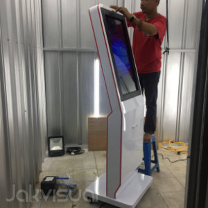 Jakvisual Workshop Kiosk Touch Screen