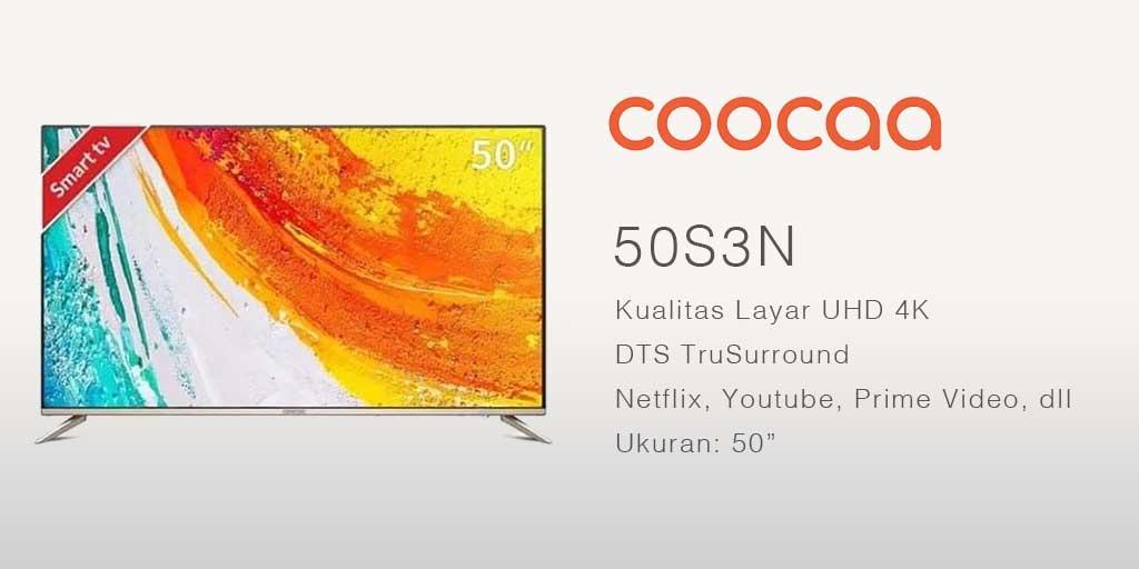 smart tv terbaik coocaa