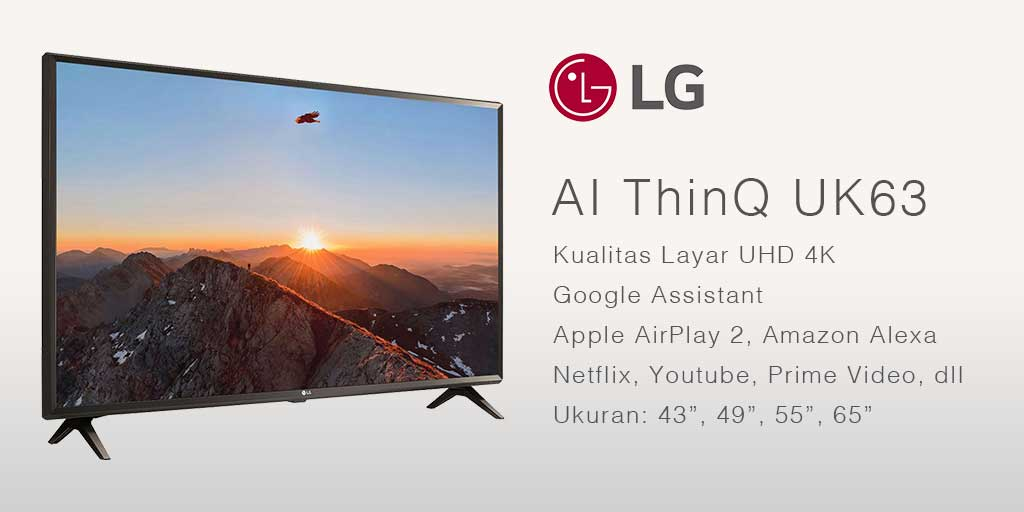 smart tv terbaik LG AI ThinQ
