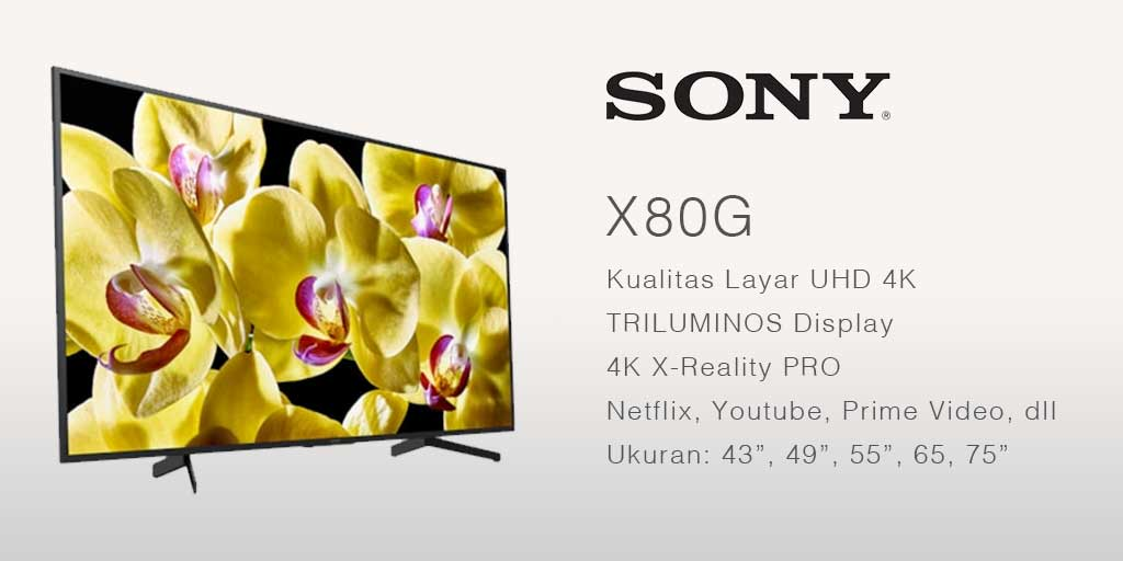 smart tv terbaik Sony