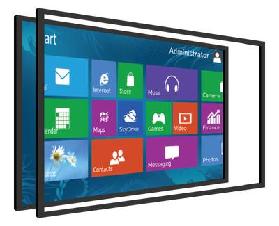 touchscreen overlay