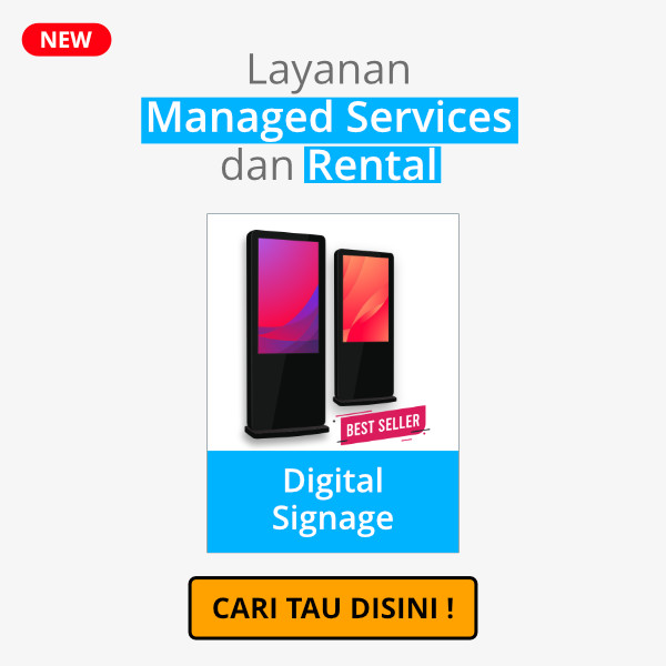 Managed Service & Rental Digital Signage / Kiosk
